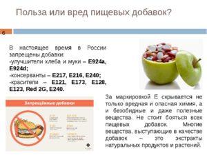 Е 509 пищевая добавка вред или польза