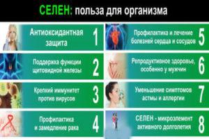 Селен польза и вред для организма для мужчин