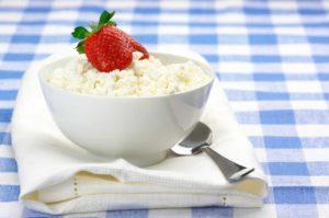 Обезжиренный творог польза и вред при похудении