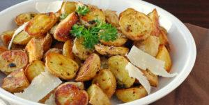 Печеная картошка в духовке польза и вред