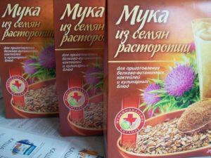 Мука из семян расторопши польза и вред