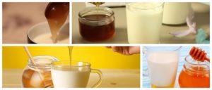 Мед с молоком вред и польза и вред