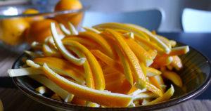 Апельсиновые корки в чай польза и вред