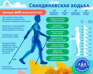 Скандинавская ходьба с палками техника ходьбы польза и вред