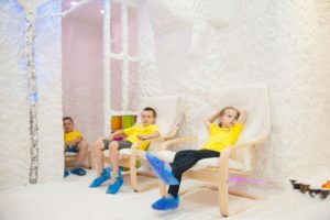 Соляная комната для ребенка польза и вред