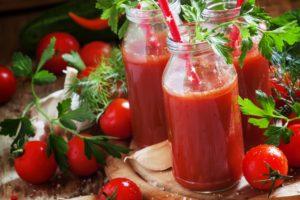 Томатный сок польза и вред при похудении