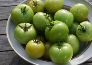 Зеленые помидоры польза и вред для организма