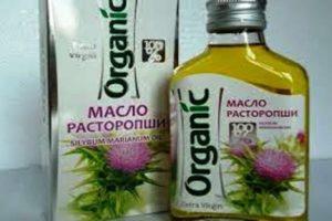 Натуральное масло из расторопши пятнистой польза и вред