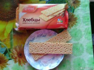Хлебцы вафельные ржаные здоровый стиль польза и вред