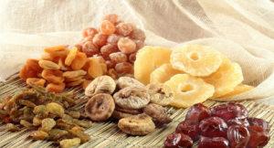Сухофрукты польза и вред для организма человека