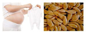 Тыквенные семечки польза и вред для беременных