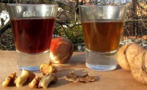 Настойка спиртовая на ореховых перепонках польза и вред