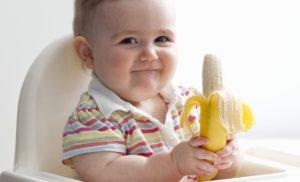 Банан для грудничка со скольки месяцев польза и вред