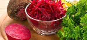 Салат из сырой свеклы польза и вред
