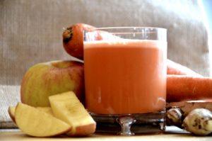 Морковный сок с яблоком польза и вред