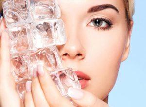 Лед для лица польза и вред вокруг глаз