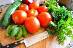 Огурцы и помидоры вред и польза и вред
