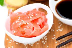 Маринованный розовый имбирь вред и польза и вред