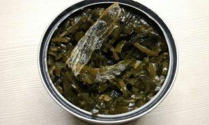 Морская капуста консервированная вред и польза и вред