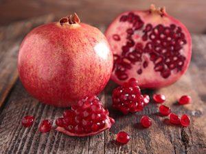 Гранат польза и вред для здоровья калорийность