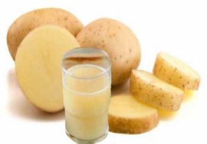 Сок из сырого картофеля польза и вред