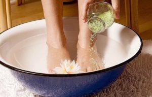 Горячая ванна для ног польза и вред