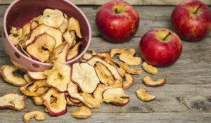 Сушеные яблоки польза и вред для здоровья как употреблять