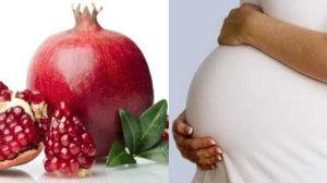 Гранат польза и вред для здоровья беременным