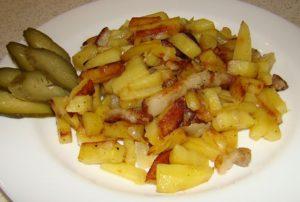 Жареная картошка вред и польза и вред