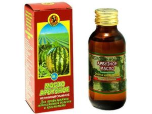 Масло из арбузных семечек польза и вред