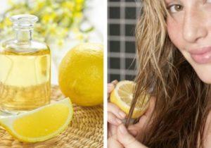 Лимон для волос ополаскивание польза и вред