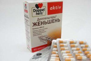 Женьшень в таблетках для женщин польза и вред
