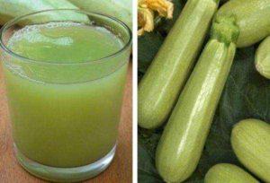 Сок из кабачков свежевыжатый польза и вред