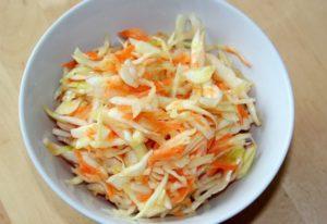 Салат из свежей капусты польза и вред