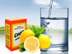Вода с содой и лимонной кислотой польза и вред