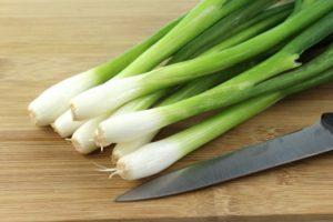 Зеленый лук польза и вред для организма
