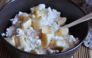 Творог с бананом на завтрак польза или вред
