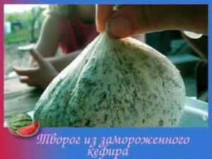 Творог из замороженного кефира польза или вред