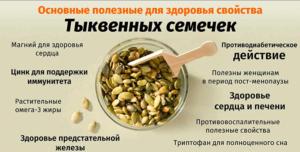 Тыквенные семечки польза и вред для здоровья