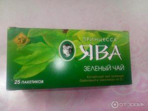 Зеленый чай в пакетиках ява польза и вред
