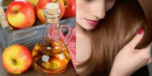 Ополаскивание волос яблочным уксусом польза и вред