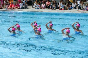 Синхронное плавание для детей польза и вред