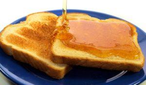 Бутерброд с маслом и медом польза и вред
