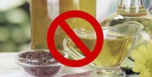 Льняное масло польза и вред как принимать при запорах