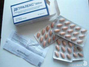Таблетки детралекс польза и вред