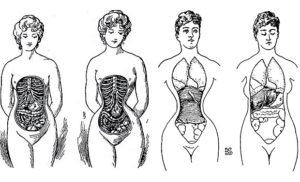 Женские корсеты вред и польза