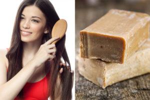 Хозяйственное мыло для волос вред или польза