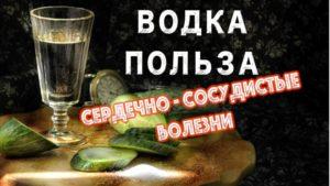 50 грамм водки в день вред или польза