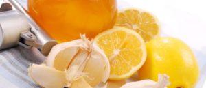 Смесь мед лимон чеснок польза и вред