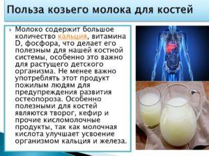 Козье молоко вред и польза для детей